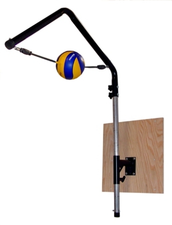 Volleyball Spike Trainer. Model # VST-400 (For Permanent Wall Mounting)