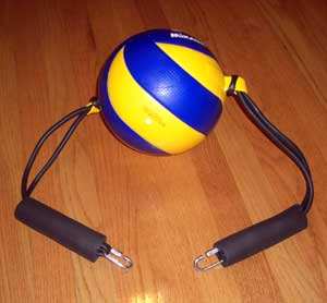 Volleyball Spike Trainer Ball Assembly. Model # VST-VBA